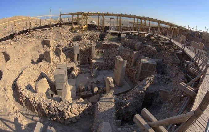 Ngôi đền cổ nhất thế giới Gobekli Tepe của Thổ Nhĩ Kỳ.