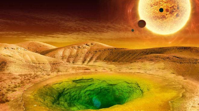 Sự sống ngoài vũ trụ có thể sẽ rất khác.