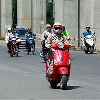 Những điều cần lưu ý khi đi xe máy dưới trời nắng nóng