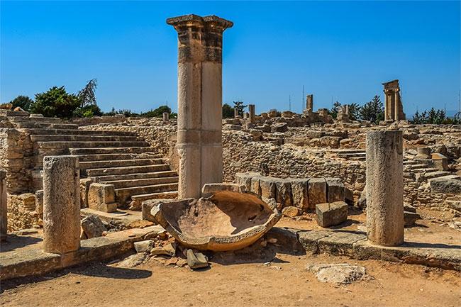 Khu vực phát hiện ngôi mộ cổ.