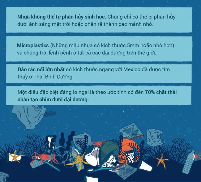 Những thông số khác về rác thải nhựa trên thế giới.