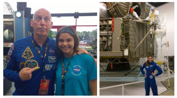 Alyssa thường xuyên chia sẻ hình ảnh về các khóa huấn luyện của NASA trên mạng xã hội.