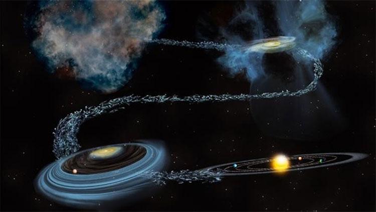 Các hạt bụi này nằm trong các sao chổi cổ liên hành tinh