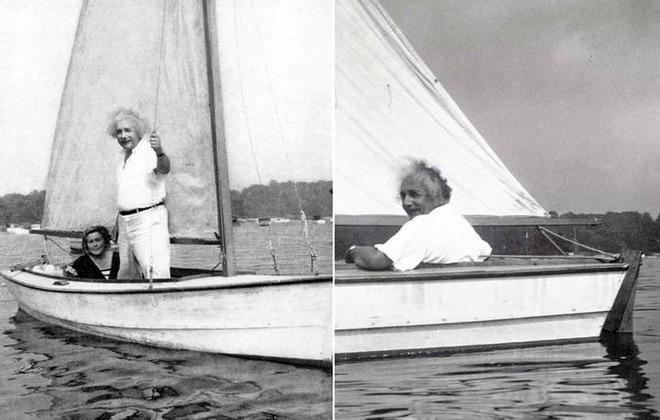 Ngay cả khi đã trưởng thành, Einstein vẫn tiếp tục những chuyến du hành thú vị của mình