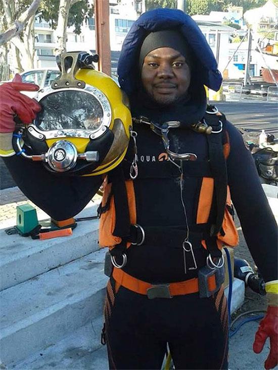 Harrison Okene đã thề rằng không bao giờ quay trở lại biển khơi nữa.