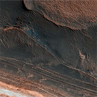 Cận cảnh sao Hỏa giữa kỷ băng hà