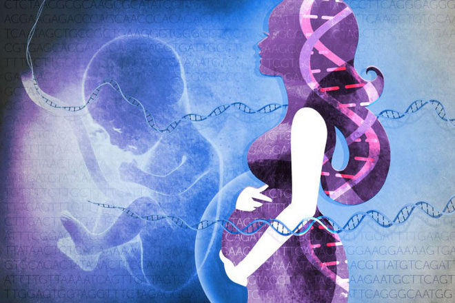 Bé gái này sinh ra với bộ gene gần như được lấy từ người cha.