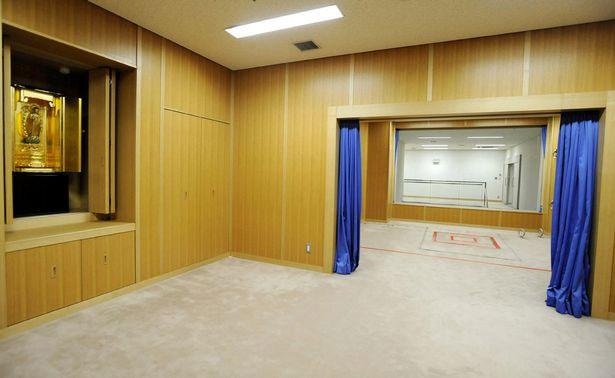 Bên trong căn phòng thi hành án tử hình ở Nhật Bản.