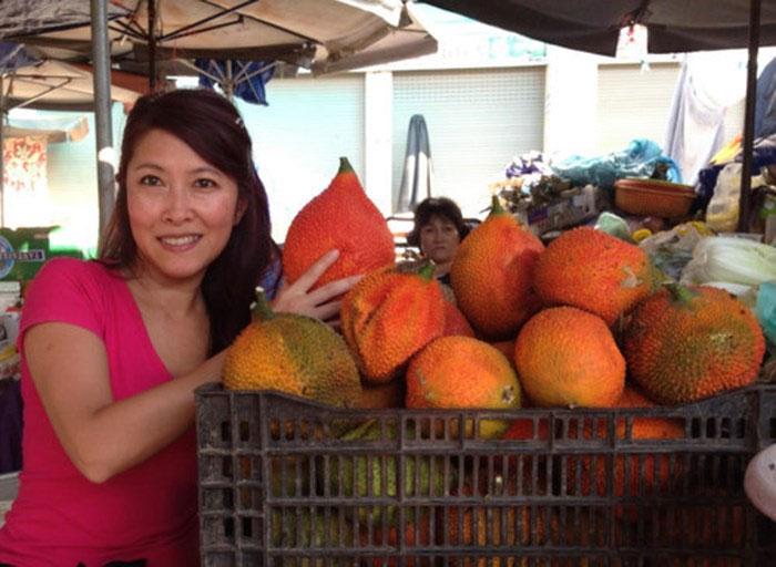 TS Tiên Huỳnh đã dày công nghiên cứu những hoạt chất chữa trị ung thư của trái gấc.