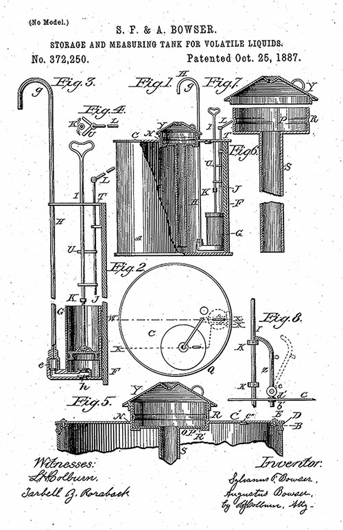 Bản vẽ thiết kế trụ bơm xăng.