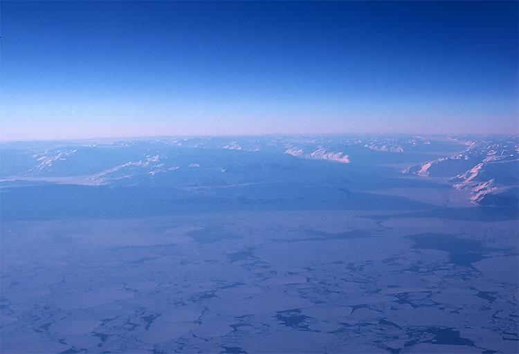 Quang cảnh Nam cực.