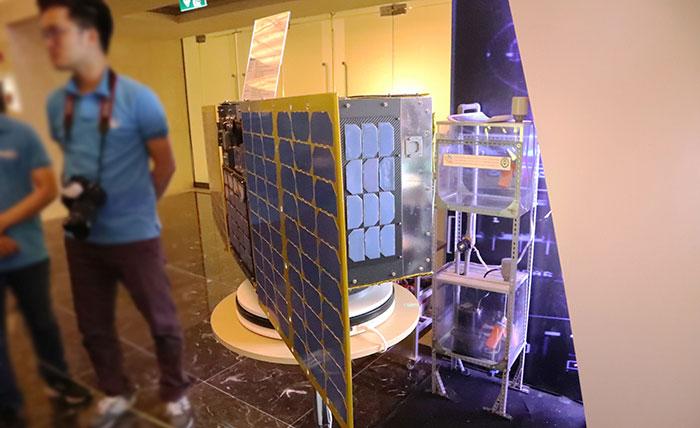 Đủ để cung cấp năng lượng cho quãng đường 500km trong vũ trụ.
