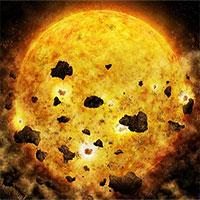 """Ngôi sao """"ăn thịt"""" hành tinh cách Trái Đất 450 năm ánh sáng"""