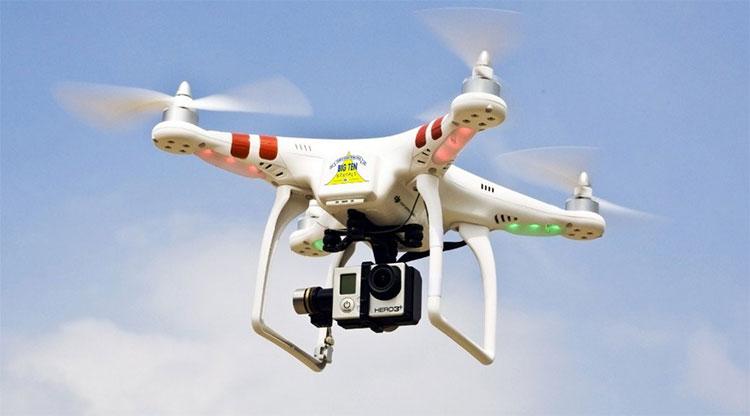 UAV của Phantom, một dòng máy bay không người lái đang thịnh hành trong thời gian gần đây.