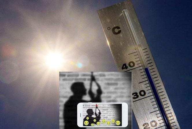 Các chuyên gia lo ngại Trái đất ấm lên sẽ khiến con người tự tử nhiều hơn.