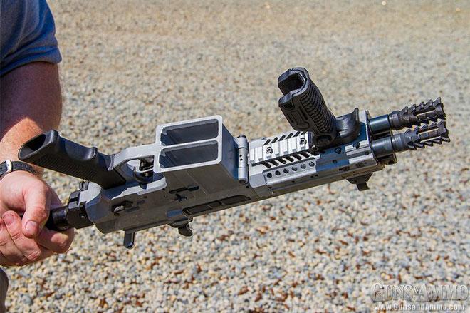 Súng trường tấn công Gilboa Snake có hỏa lực mạnh gấp đôi so với súng trường thông thường.