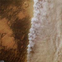 Diện mạo sao Hỏa bất ngờ biến đổi hoàn toàn sau cơn bão bụi