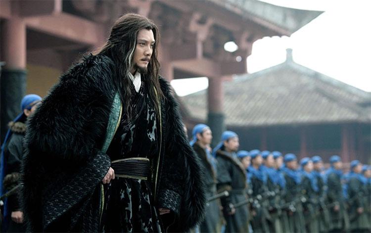 Hình tượng Tây Sở Bá Vương Hạng Vũ trong phim truyền hình Trung Quốc.