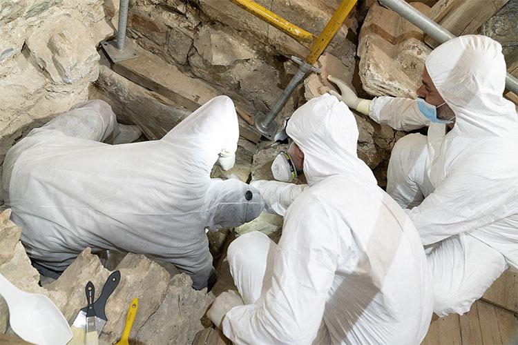 Lăng mộ được tìm thấy ở Episkopi, di tích chôn cất hiếm hoi từ thời La Mã.