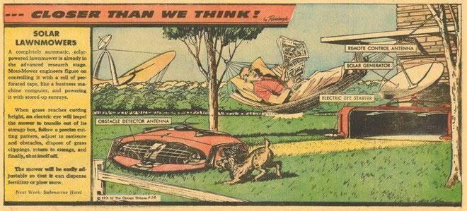 Người Mỹ tỏ ra sợ hãi thứ máy móc tự động gắn đầy dao sắc nhọn lượn lờ trên bãi cỏ của họ.