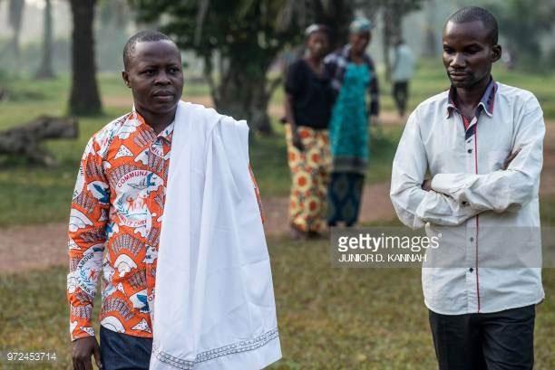 Người dân Congo được điều trị thành công sau khi bị nhiễm virus Ebola tại Itipo ngày 11/6.