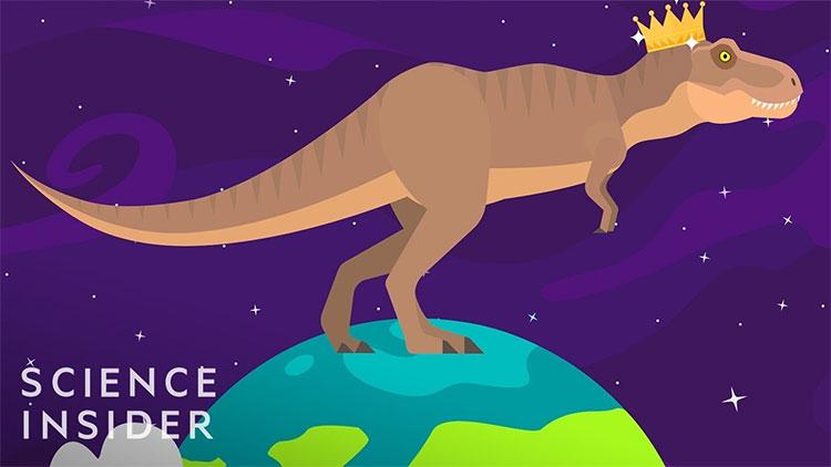 Eoraptor - loài khủng long thực sự đầu tiên rất nhỏ bé.