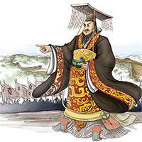"""Chi tiết gây sốc dung mạo """"dị hợm"""" của Tần Thủy Hoàng"""
