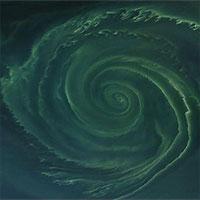"""NASA phát hiện """"vòng xoáy tử thần"""" khổng lồ trên biển Baltic"""