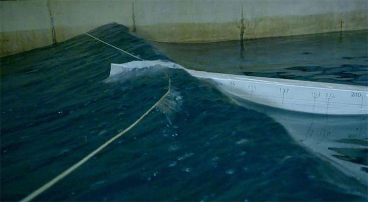 Nhóm nghiên cứu mô phỏng sóng độc ở điều kiện trong nhà.