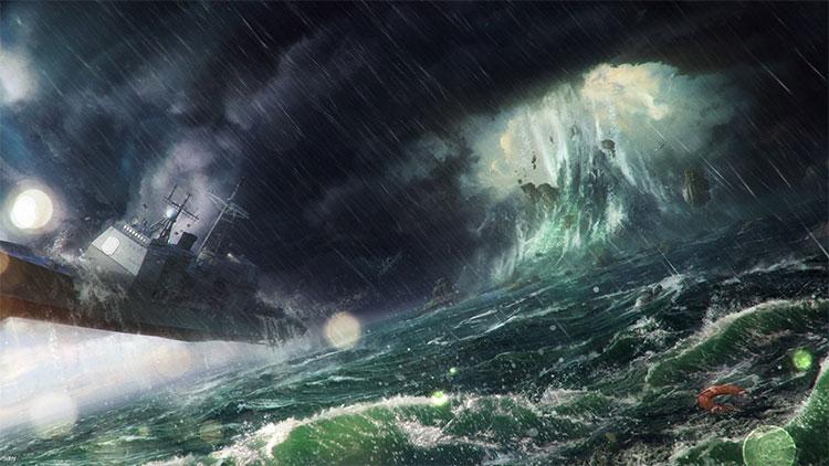 Các nhà khoa học tính toán sóng độc ở tam giác Bermuda có thể cao tới hơn 30 mét.