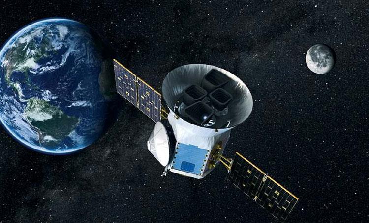 Tàu vũ trụ TESS của NASA.
