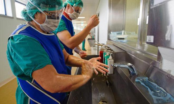 Siêu vi khuẩn đang có dấu hiệu kháng lại các dung dịch rửa tay chứa cồn.