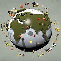 Thức ăn lãng phí mỗi năm đủ nuôi sống ba châu lục