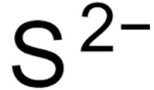 Ký hiệu của sulfide.