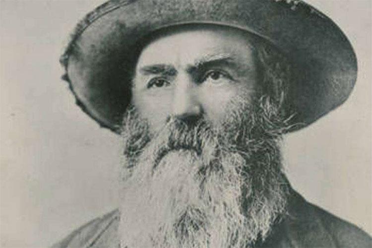 """Chân dung """"dị nhân"""" John Jeremiah Garrison Johnston."""