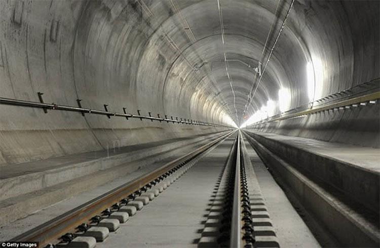 Hầm đường sắt dài nhất thế giới ở Trung Quốc sẽ nối đại lục với Đài Loan.