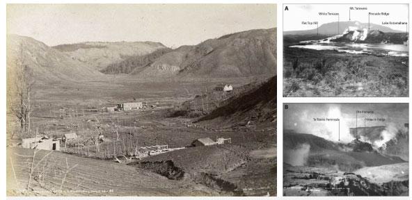 Hình ảnh kỳ quan sau khi núi lửa Tarawera phun trào.