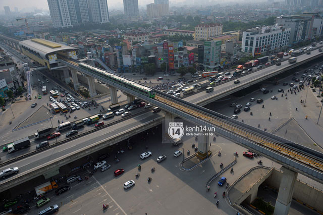 Tuyến đường sắt trên cao Cát Linh - Hà Đông dài 13km