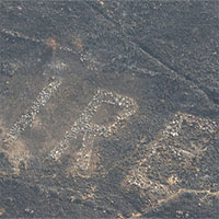 Nắng nóng gây cháy rừng làm lộ thông điệp bí ẩn từ thế chiến II