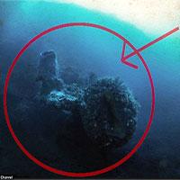 Tìm thấy phi thuyền ngoài hành tinh ẩn dưới Tam giác quỷ Bermuda?