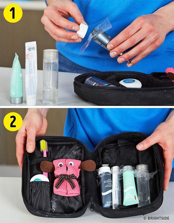Bảo vệ đồ mỹ phẩm dùng dở