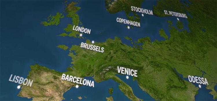 Châu Âu sẽ phải nói tạm biệt với London, Venice và toàn bộ nước Hà Lan.