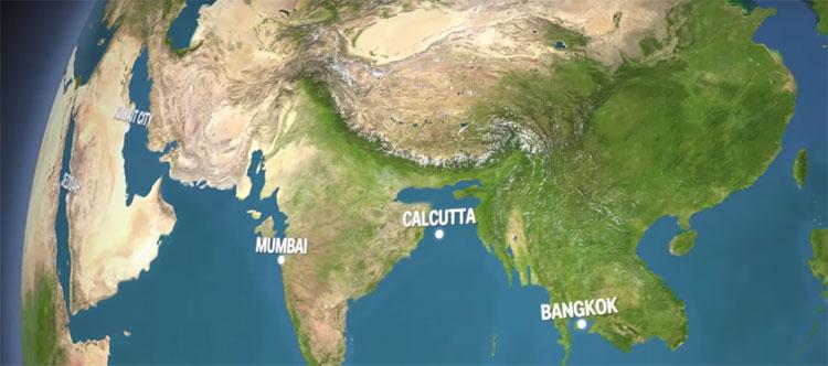 Nước biển sẽ nhấn chìm toàn bộ Bangladesh, nơi sinh sống của hơn 160 triệu người