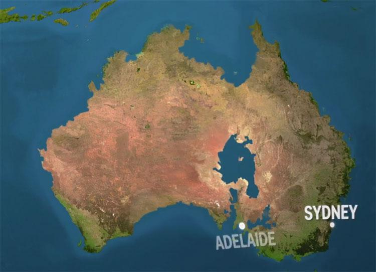 Australia sẽ mất nhiều vùng đất ven biển, nơi sinh sống của 80% cư dân.