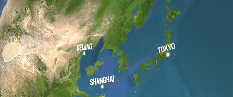 Thượng Hải sẽ bị biển Hoa Đông nuốt trọn.
