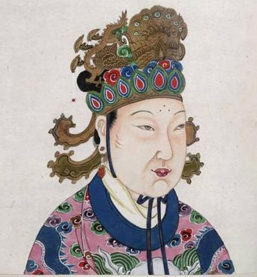 Võ Tắc Thiên, trị vì từ năm 690 đến năm 705.