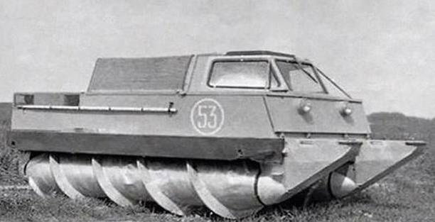 Xe tăng không bánh Corkscrew