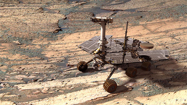 Opportunity gặt hái nhiều thành tựu trong hành trình khám phá sao Hỏa.