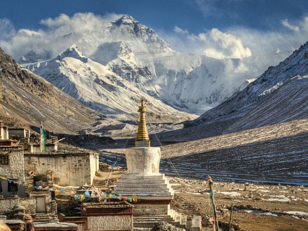 Đỉnh Everest (đỉnh Chomolungma).