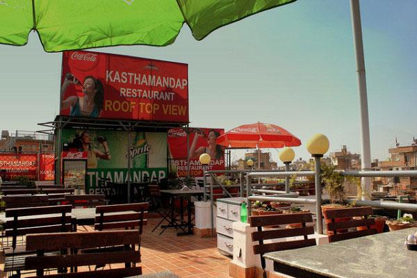 Nhà hàng ở Kathmandu, Nepal.